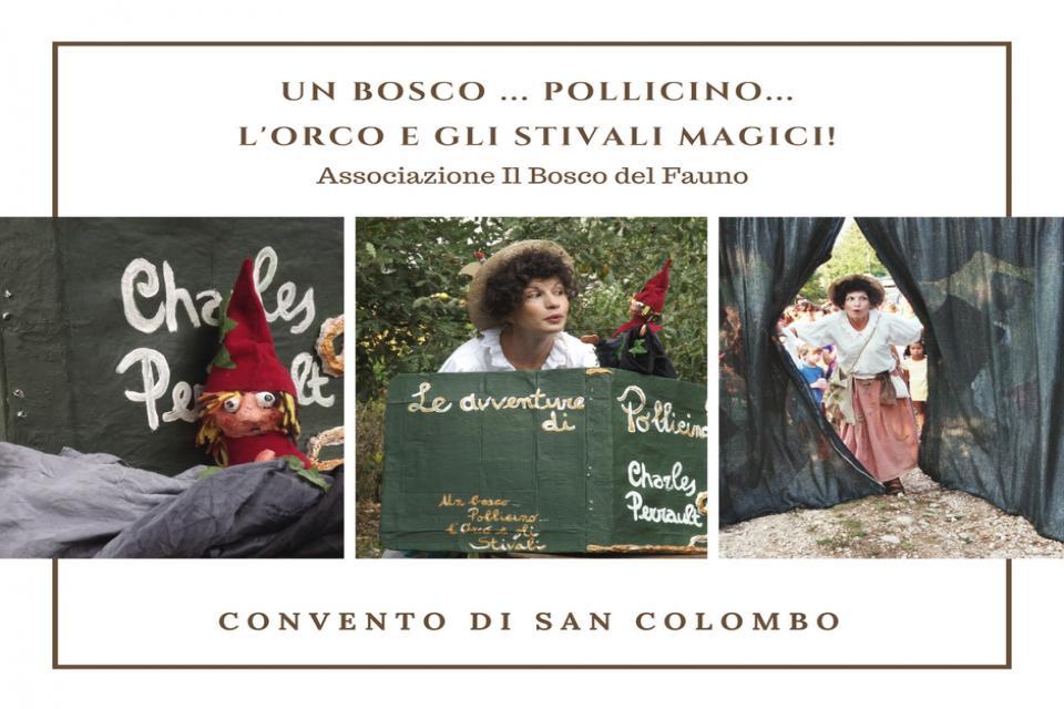 Un Bosco, Pollicino, l'Orco e gli Stivali Magici!